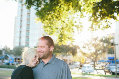downtown st. petersburg engagement
