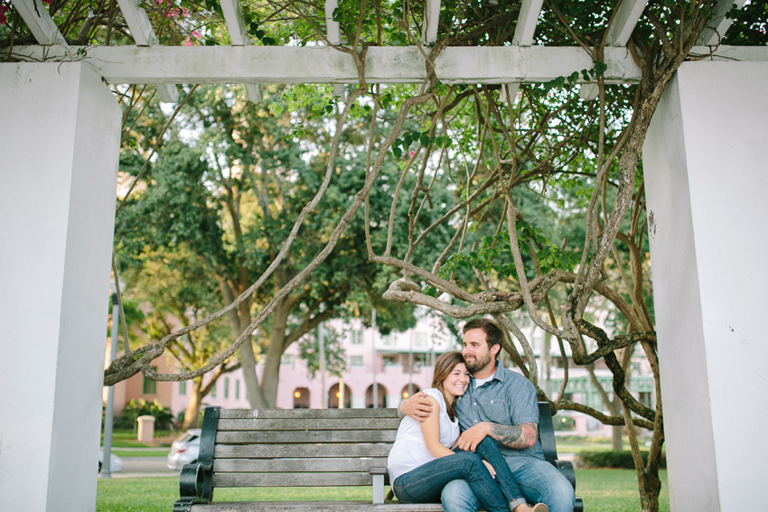 st. pete engagement in North Straub Park
