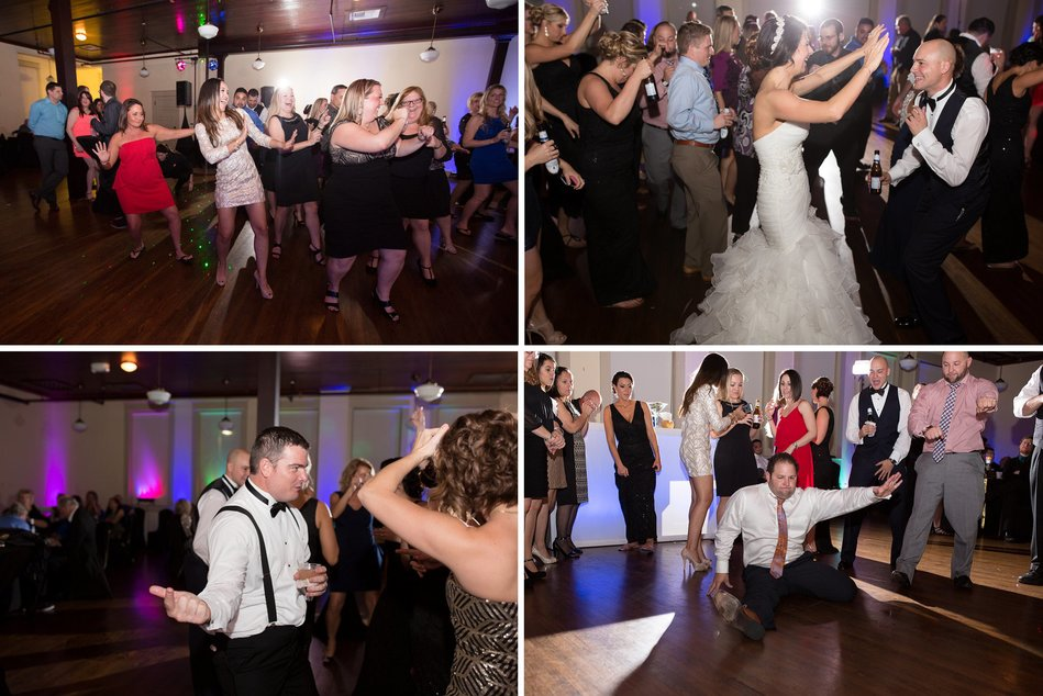 Tampa Firefighters Museum Wedding Reception