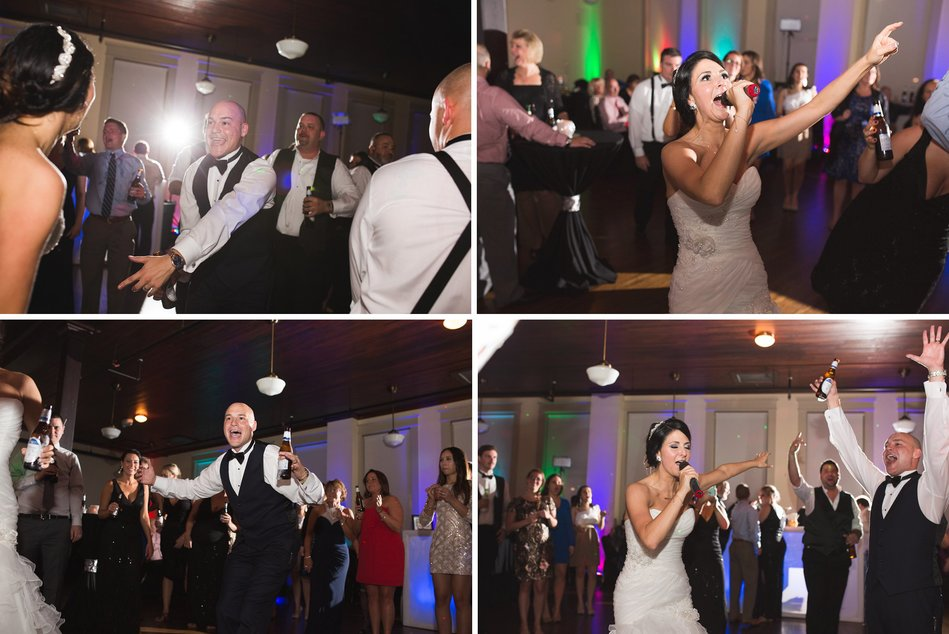 Tampa Firefighters Museum Wedding Reception by Bara Miller Photography
