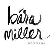 Tampa Wedding Photographer | Bára Miller Photography logo